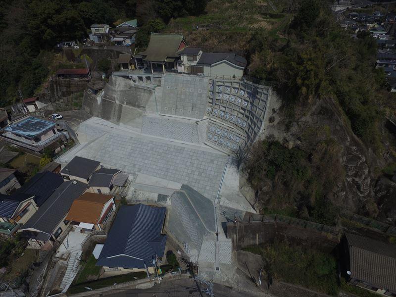県単急傾斜施設等整備工事(池之上2地区)