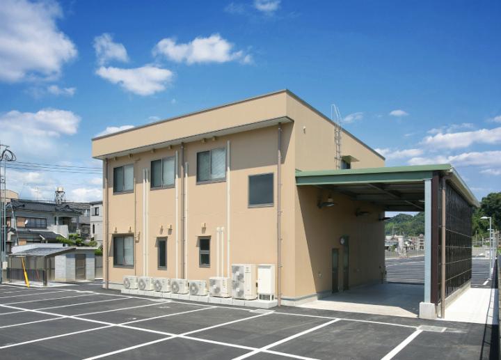 鹿児島市交通局バス施設浜町営業所(仮称)新築本体工事