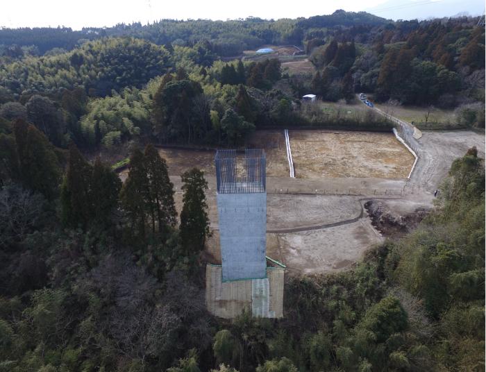 東九州道(大崎~鹿屋)第一串良川橋下部工(P2)工事