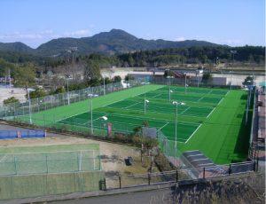 郡山総合運動場テニスコート