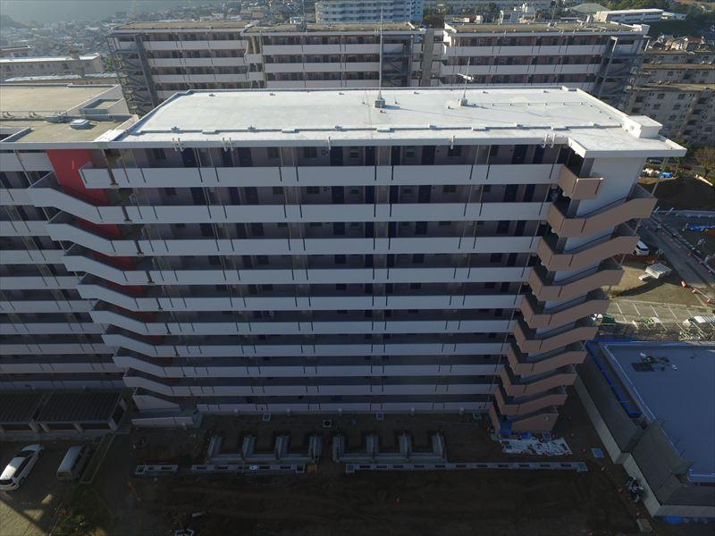 県営住宅建設工事(原良団地4期A-5号棟建築、債務負担)