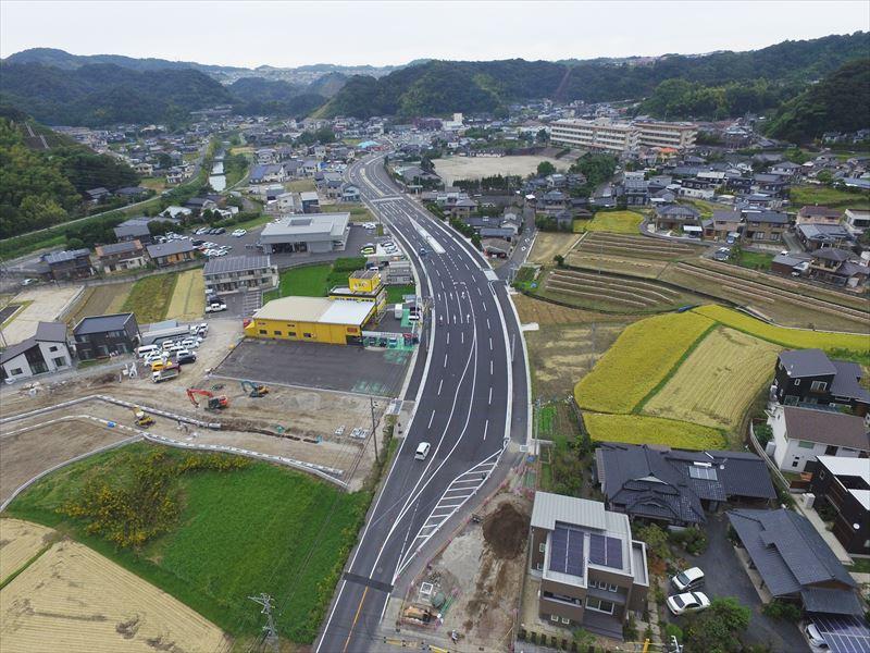地方特定道路整備工事(山田27-2工区)