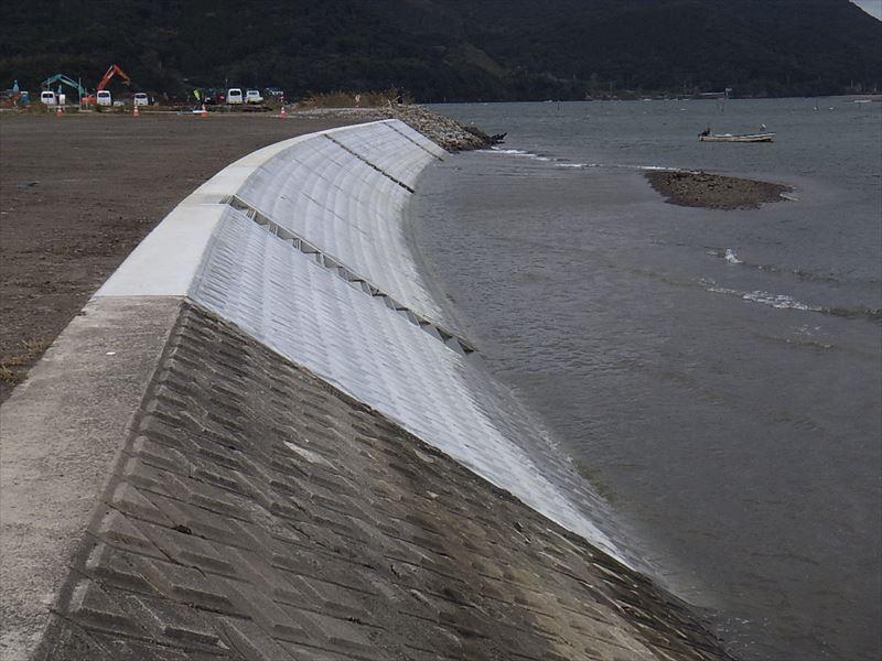 高江地区堤防強化工事