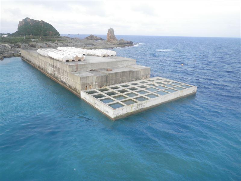 小宝島港改修工事