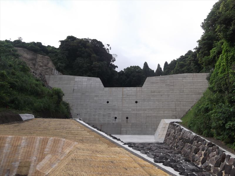 火山砂防工事(松浦川第2)