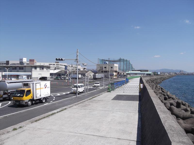 鹿児島港(鴨池中央港区)臨港道路補修工事