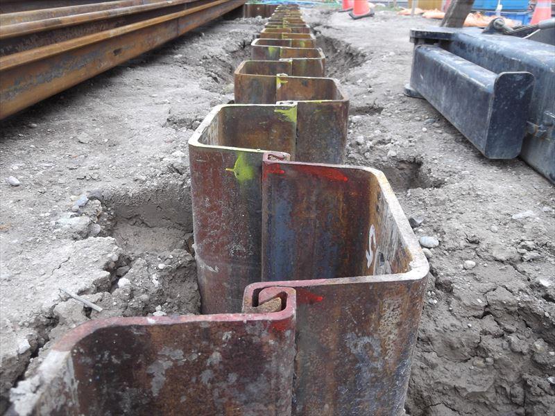 薩摩川内市で浄化センターの建設工事をおこなっています