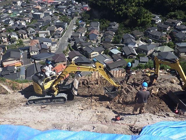 急傾斜地崩壊対策工事(小野地区)について
