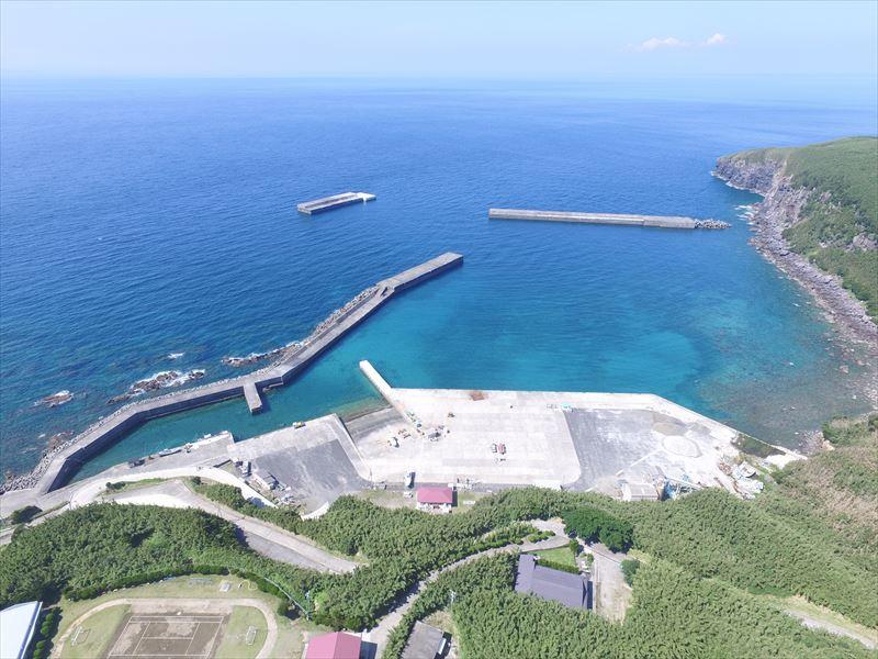 平成29年度竹島港改修工事(三島村竹島)