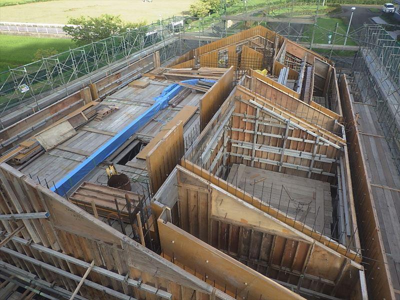 宮里浄化センター建設工事その5(2018-9)