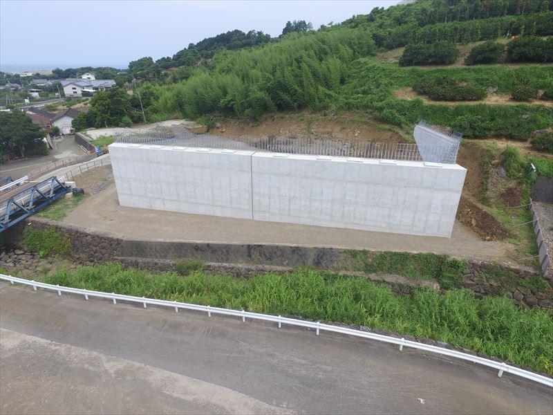 鹿児島3号針原川橋下部工A1工事