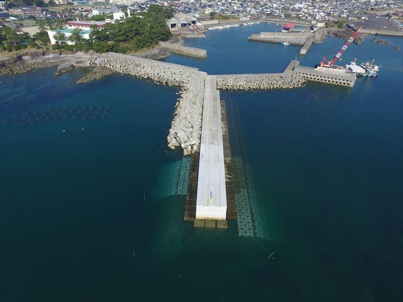 串木野漁港水産流通基盤(特定)整備工事(29-2工区)