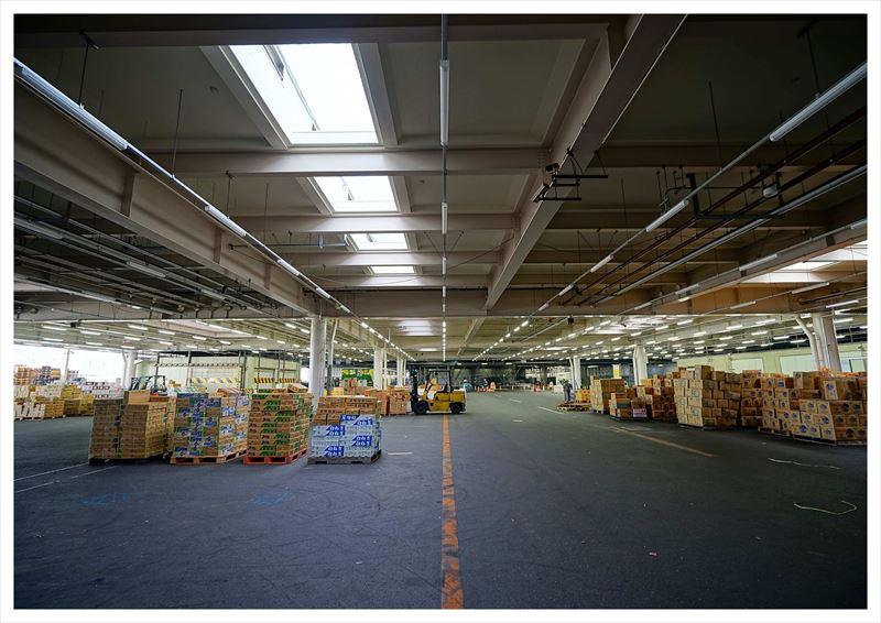 鹿児島市中央卸売市場青果市場卸売場棟卸売場内部改修その他本体工事(その2)