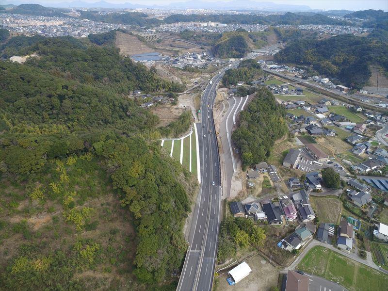指宿有料道路(Ⅲ期)山田IC改築工事(H29-2工区)