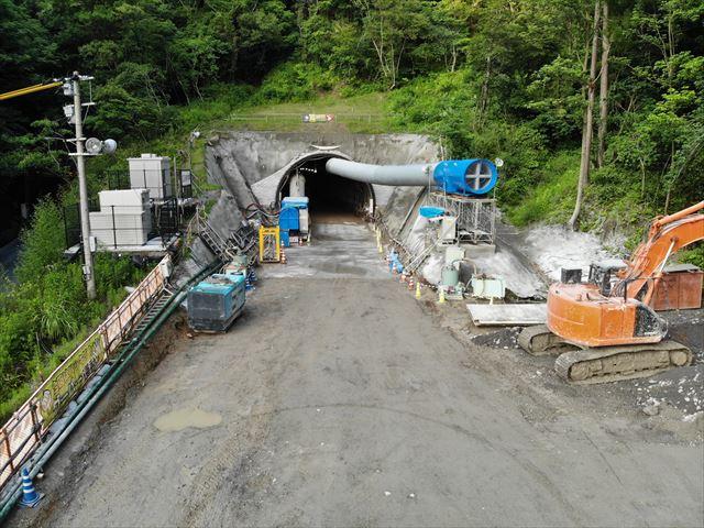 宇都トンネル 本体工事