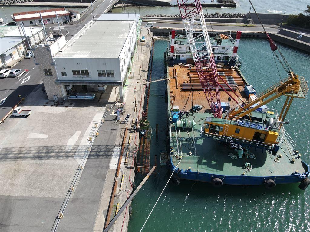 江口漁港水産生産基盤(特定)整備工事(R1-1工区)